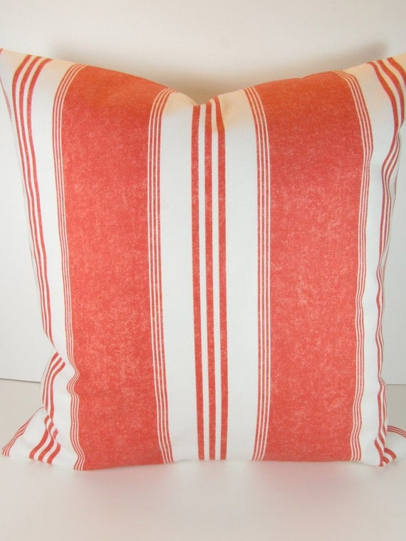 Throw Pillows Coral : PILLOWS CORAL Decorative Throw Pillows 16 x 16 by SayItWithPillows