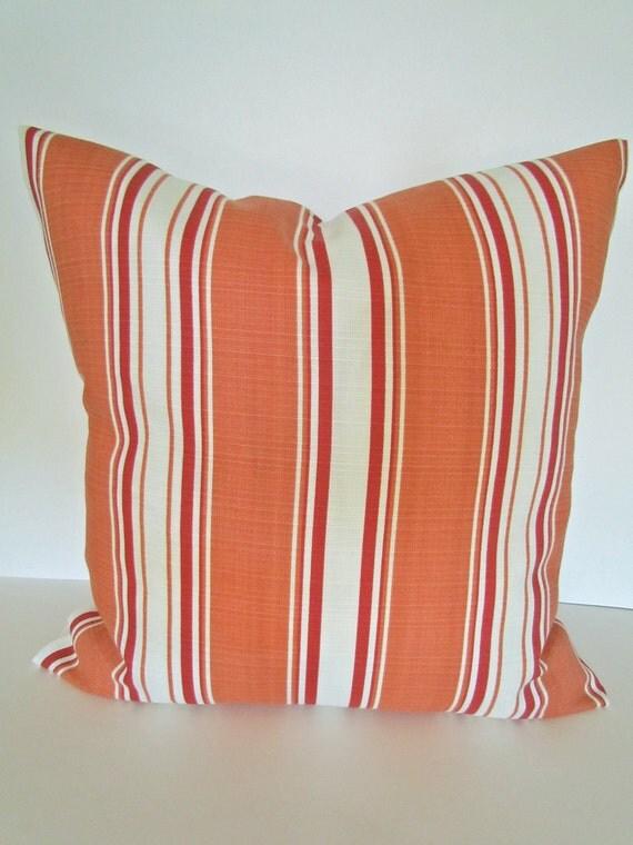 20x20 Throw Pillows Covers : ORANGE PILLOWS 20x20 Decorative Throw Pillow Covers Orange