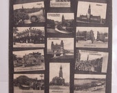 Vintage Foreign Postcard with Postal History Hamburg Germany 1905 grussaus