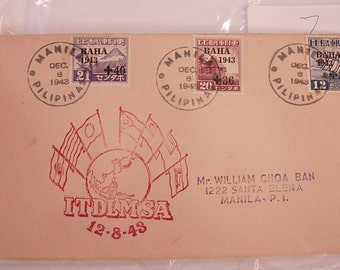 WW11 1st Day Cover ITDLMSA 1948 Postal History Stamps