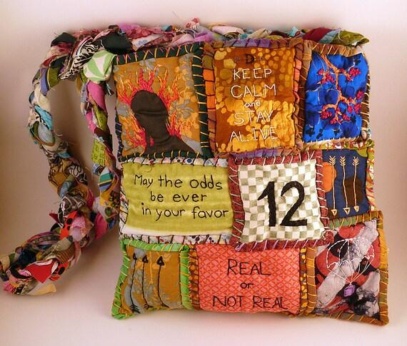Hunger Games Patchwork Bag
