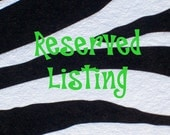 Reserve Listing for Raining Cow Designs