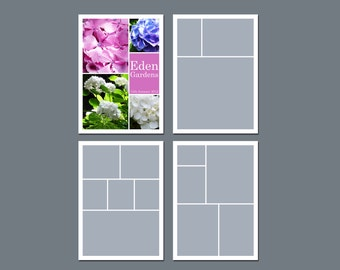 free 5 photo collage templates crafthubs