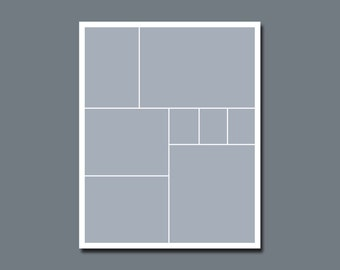 INSTANT DOWNLOAD - Photographers Template, Storyboard, Blog Board - 16 x 20 - No.2
