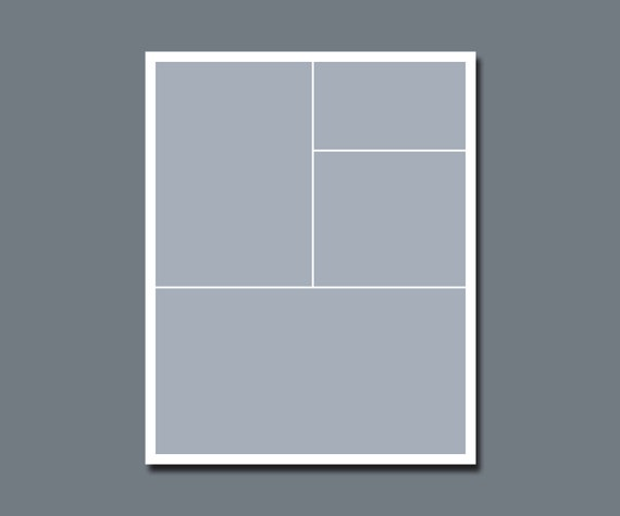 INSTANT DOWNLOAD - Photographers Template, Storyboard, Blog Board - 16 x 20 - No.3