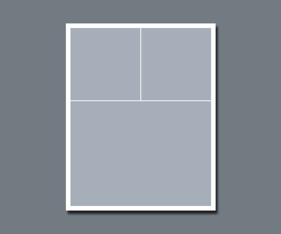 INSTANT DOWNLOAD - Photographers Template, Storyboard, Blog Board - 16 x 20 - No.4