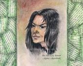Rowan Jun Original Art Novel Collage 1