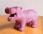 Hanaa The Glitter Bombed Pink Baby Pygmy Hippo