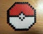 Pokeball Bead Sprite Coaster (MADE TO ORDER)