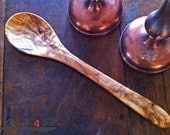 2 x olive wood spoon - hand crafted - length13,78'