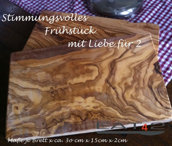 Olive Wood Cutting Board / Wooden Cutting Boards (two pieces)