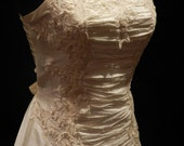 CRAZY SALE: the new one ivory short wedding dress (BD08130)