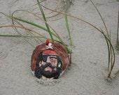 Blackbeard Clay Ornament