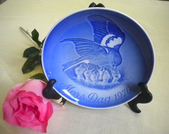 Bing and Grondahl Collectable Mother's Day Plate 1970