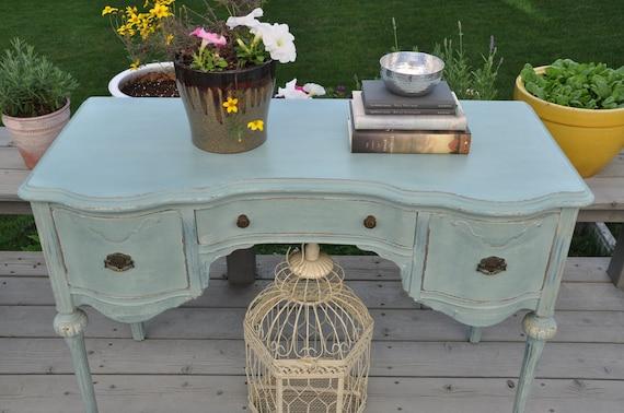 Vintage French Style Desk-Vanity