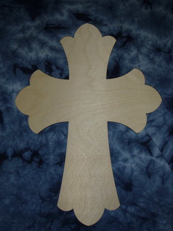 Unfinished Wood Cross Crafts