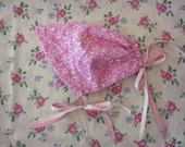 Baby Reversible Bonnet (6 to12mths)