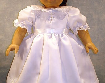 First Communion Dress made to fit 18 inch dolls