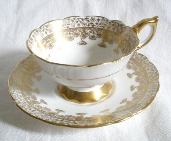Royal Stafford English bone china cup & saucer