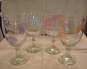 Blossoms Tea Glasses