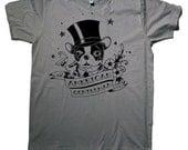 Boston terrier american gentleman tattoo T Shirt unisex