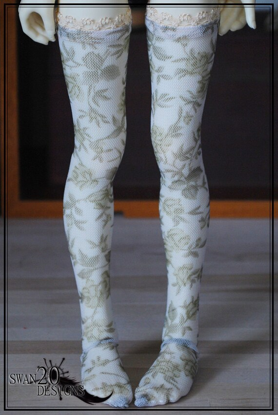 Swan20 Designs Stockings Unoa Dollmore Volks Kaye Wiggs MSD Annabella/Nyssa/Layla 292