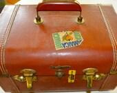 Vintage leather suite case