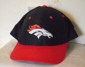 Vintage Denver Broncos Fiber Optic Light Up Ball Cap