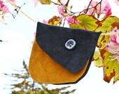 Leather wallet purse hand bags cheap vintage handmade fabric pink cat flowers Worldwide fair trade