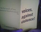 Voices, against violence