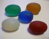 28 Antique Crystal Naga Stone  Eggs Shape