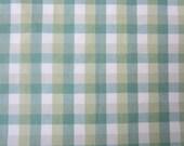 Reversible Retro Green Check Tablecloth 54x54