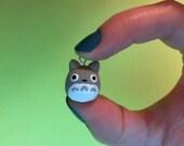 Totoro Polymer Clay Charm