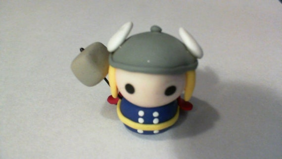 Thor from The Avengers - Polymer Clay