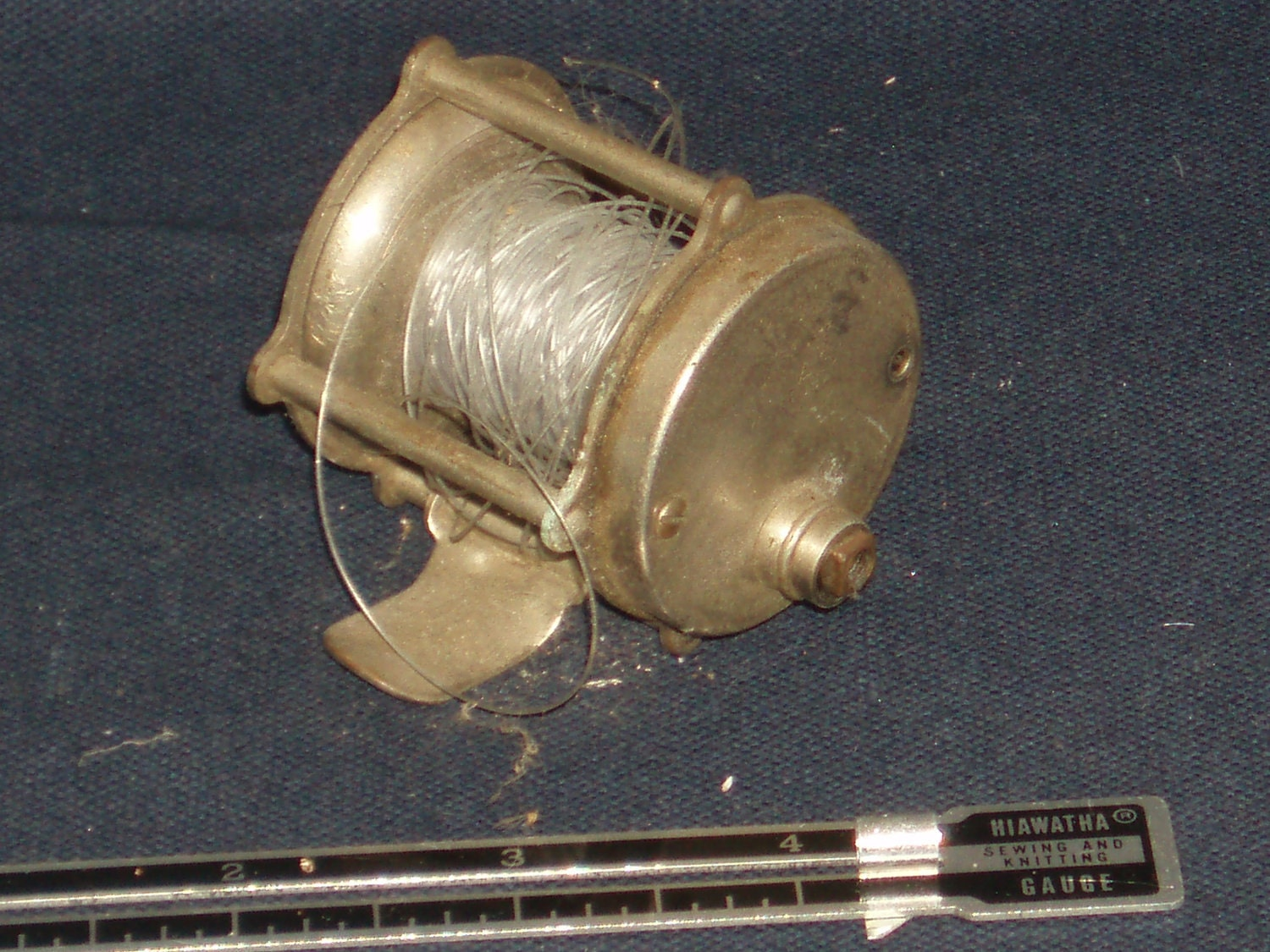 1935 vintage portage atlas fishing reel made in usa for American made fishing reels