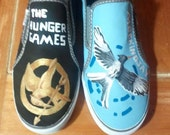 Custom Painted Hunger Games Shoes