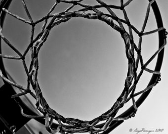 Basketball Photograph (other sizes available)