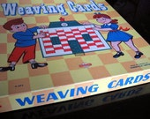 1950s Canadian Weaving Card Set of 6