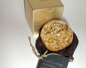 Goldenflow Original 23K Gold Snow Globe