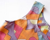 Geometric print pure silk blouse. 20% off- was 15 euro- in sale because I'm happy