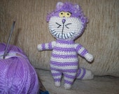 Cheshire Cat (Alice in Wonderland) , crochet, amigurumi, toy