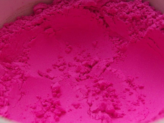 Cotton Candy Matte Hot Pink Eyeshadow Organic Vegan/Breast Cancer Awareness
