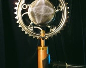 Helga - Condenser microphone with bike gear mounting