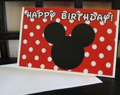 Kids Mickey Birthday Card