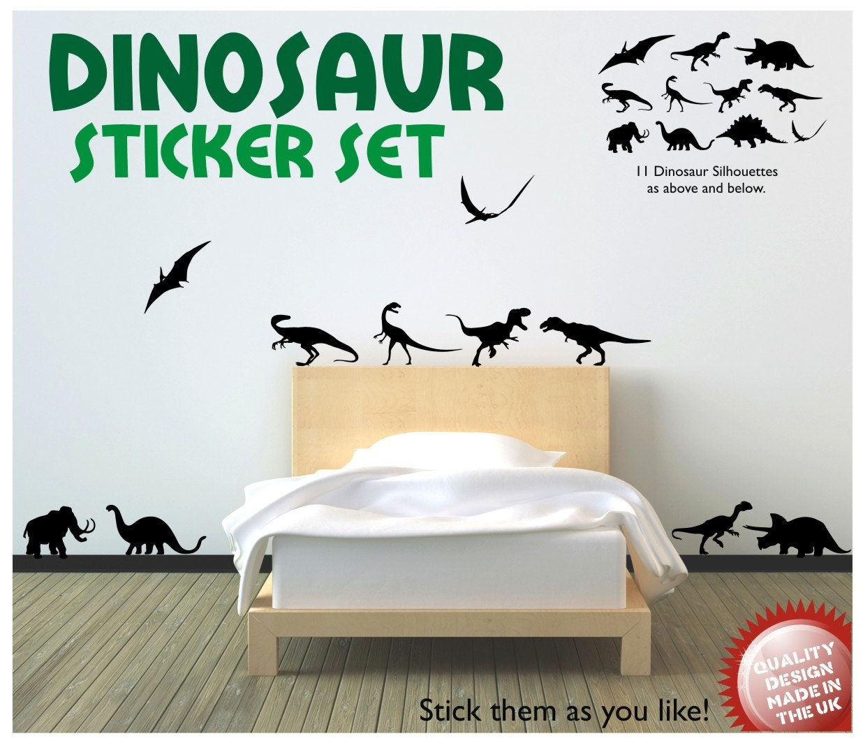 dinosaur vinyl wall decal sticker set by circlewallart on etsy arrows wall decal by thelovelywall on etsy
