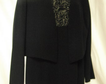 Beaded and embroided Patra sheath with jacket