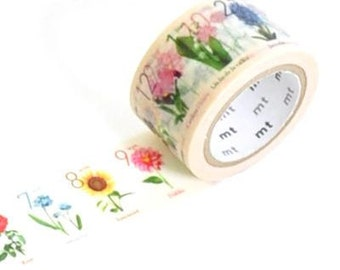 mt Masking Tape / Limited Edition Osaka  /  Birth Flower