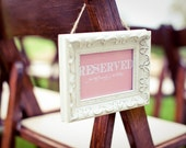 Printable Reserved Chair/Table Sign