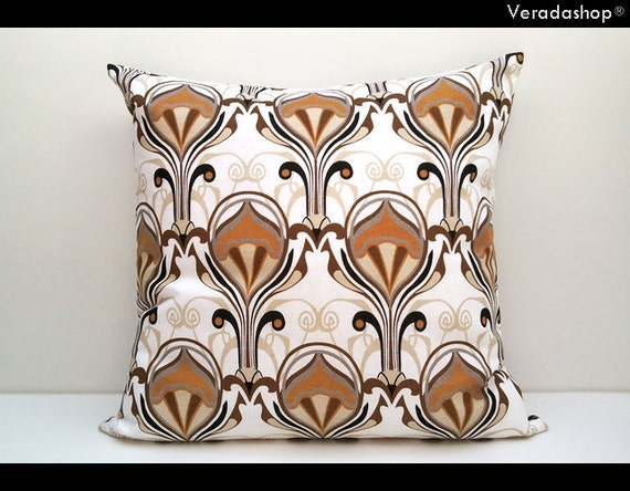 Charisma :  ONE 20x20 inch Handmade Decorative pillow Covers- Linen fabric - Ready to Ship-