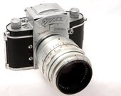 Exakta Exa - The ORIGINAL EXA - 1952 - with Carl Zeiss Jena Tessar 80mm 2.8f Lens